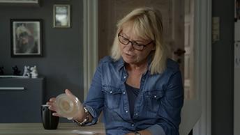 """""""Man merkt überhaupt nicht, dass innen eine Schale ist! In der Hand fühlt es sich an wie ein planes Produkt."""""""