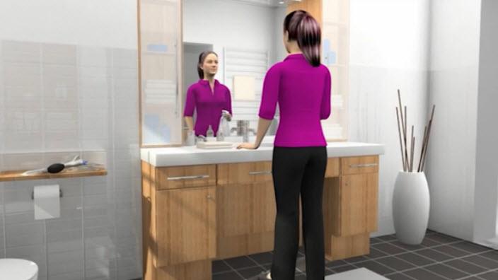 Einen kompakten Katheter für Frauen korrekt anwenden