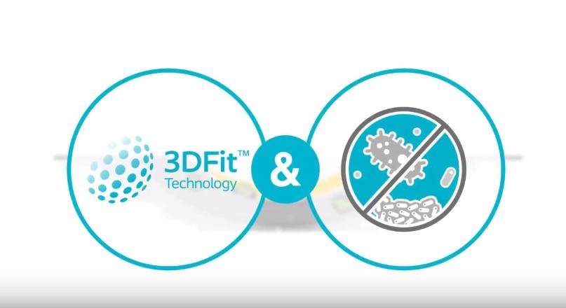 Entdecken Sie Biatain® Silicone Ag mit der 3DFit Technologie®